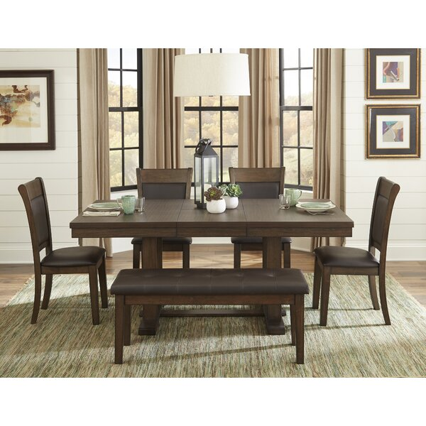 Saulsberry 6 Piece Dining Set by Millwood Pines Millwood Pines