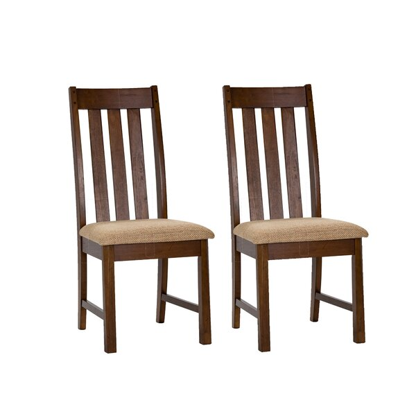 Riverbend Upholstered Dining Chair (Set of 2) by Loon Peak