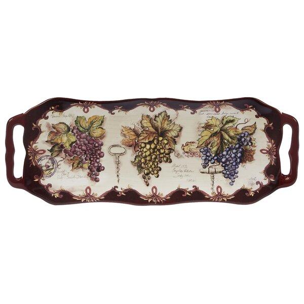Burkart Rectangular Platter by Fleur De Lis Living