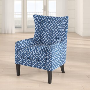 Buy clear Otsego Wingback Chair by Breakwater Bay
