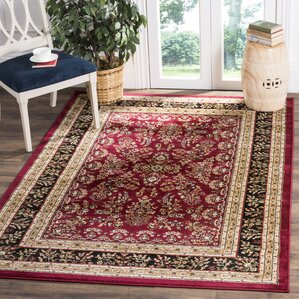 Ottis Lianne Red Area Rug