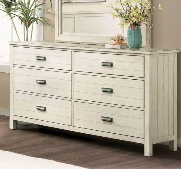 Cole 6 Drawer Dresser by Rosecliff Heights