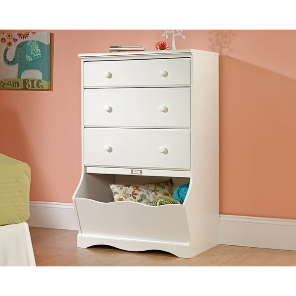 Remy 3 Drawer Standard Chest by Harriet Bee