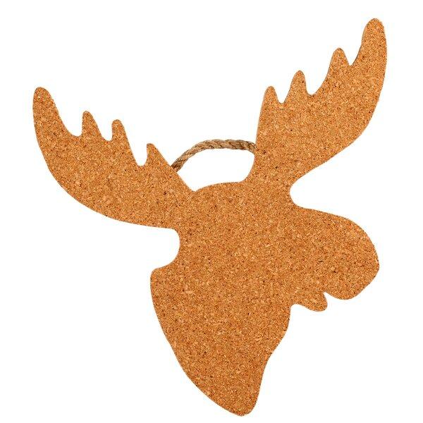 Moose Shaped Cork and Rope Trivet by Thirstystone