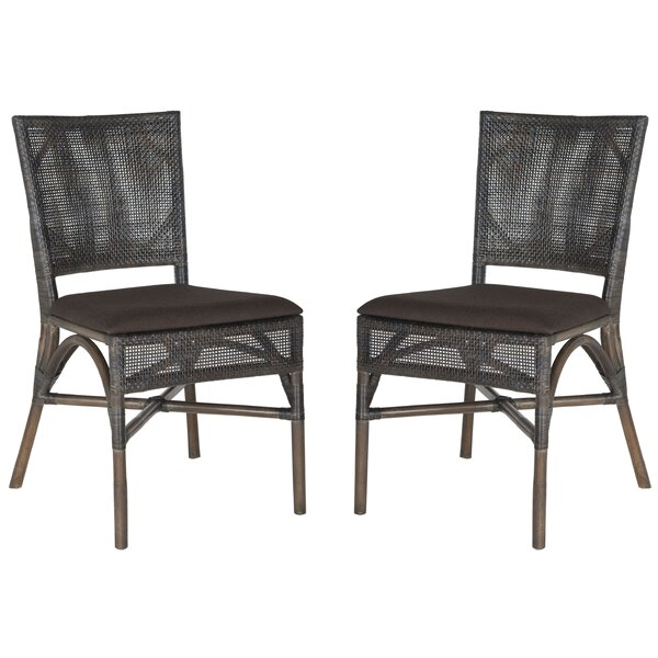 Bungalo Side Chair In Mahogany (Set Of 2) By Bay Isle Home