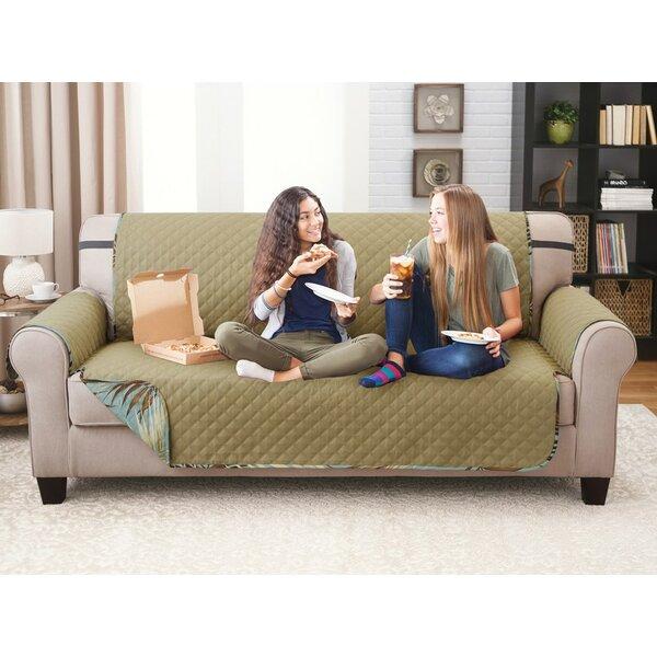 Printed T-Cushion Sofa Slipcover by Bay Isle Home