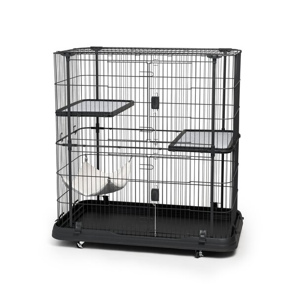 Cat Crate with 3 Level by Prevue Hendryx