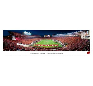 NCAA End Zone Unframed Panorama