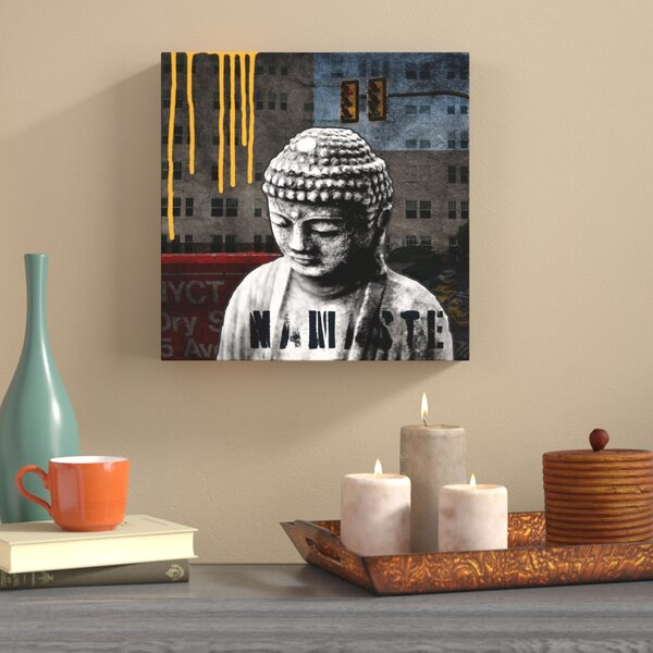 Urban Buddha III Graphic Art on Wrapped Canvas by World Menagerie