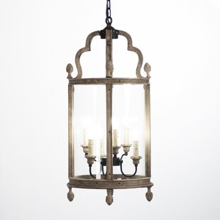Adan 6 Light Indoor Hanging Lantern