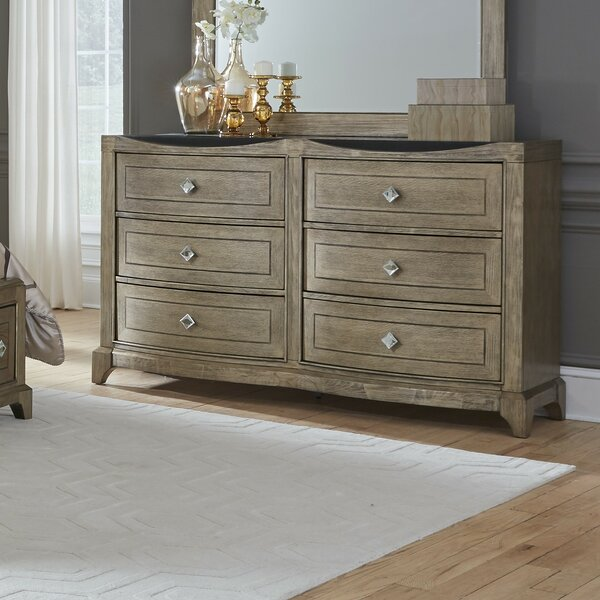 Ragnar 6 Drawer Double Dresser by House of Hampton