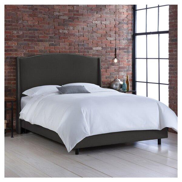Cora Upholstered Standard Bed by Skyline Furniture