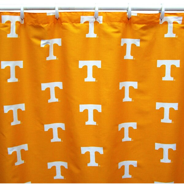 NCAA Tennessee Cotton Shower Curtain by College Covers