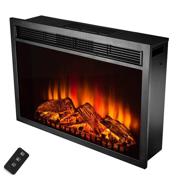 Gilcrease Electric Fireplace Insert by Charlton Home Charlton Home