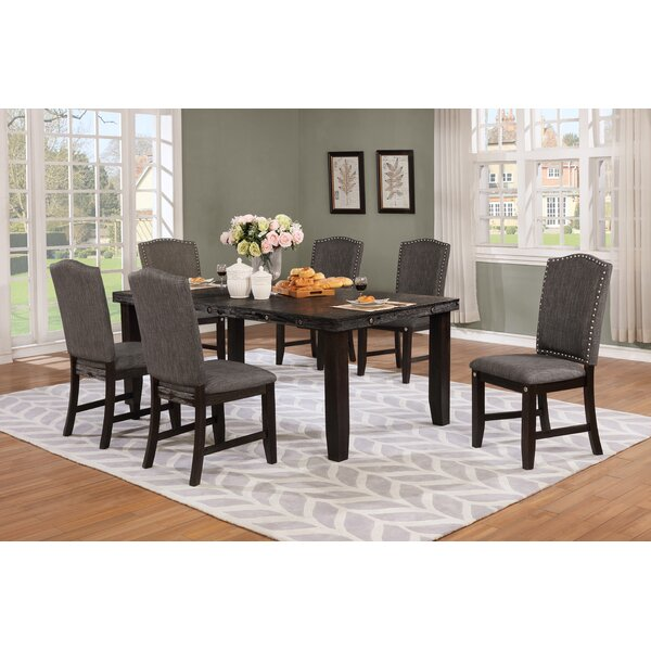 Dutchess 7 Piece Solid Wood Dining Set by Darby Home Co
