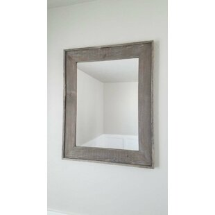 Millwood Pines Foerster Briar Smoke Accent Mirror