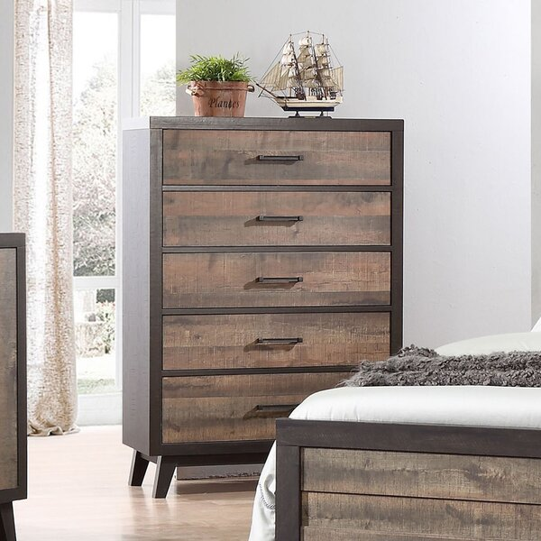 Nannie 5 Drawer Chest by Foundry Select