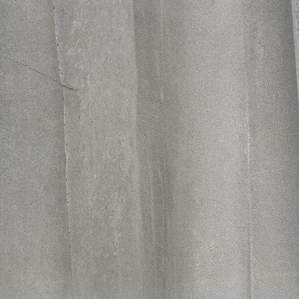 Burlington 24 x 24 Porcelain Field Tile in Medium Gray by Madrid Ceramics