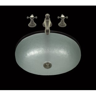 Bargain Zoe Oval Dual Mount Bathroom Sink ByBates & Bates