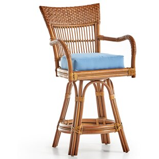 Candida 24 Swivel Bar Stool by South Sea Rattan