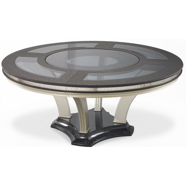 Hollywood Swank Round Dining Table by Michael Amini Michael Amini