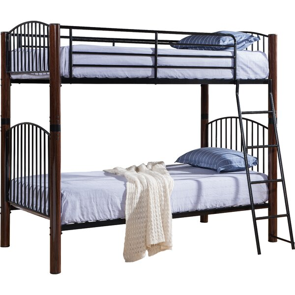 Zachery Twin over Twin Bunk Bed by Viv + Rae