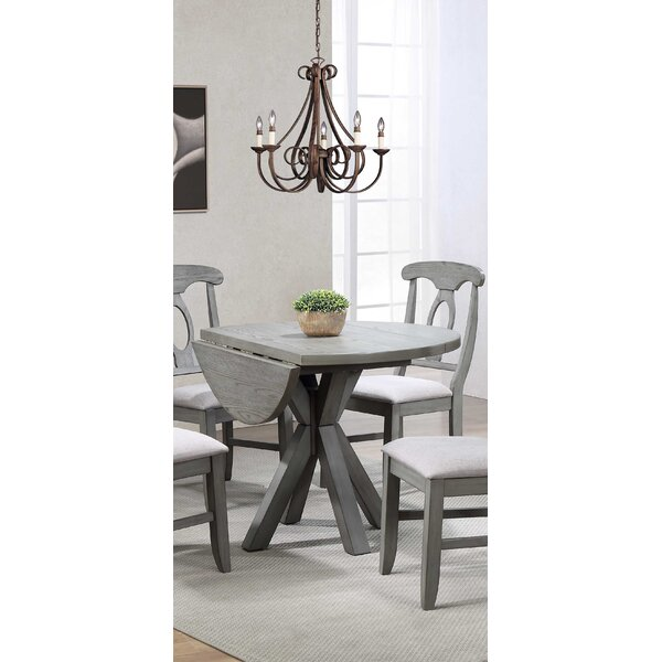 Graystone Drop Leaf Dining Table by Ophelia & Co.