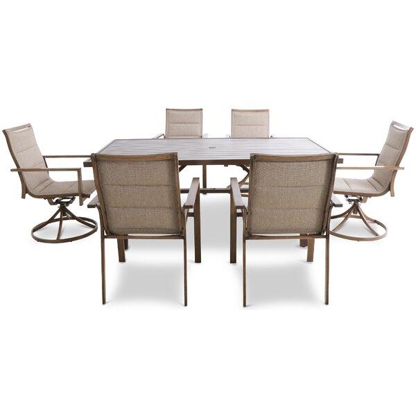 Novelli Outdoor 7 Piece Dining Set