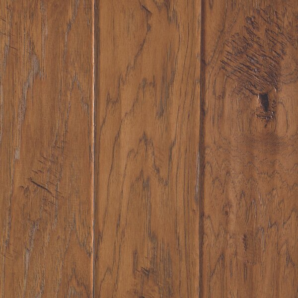 Windworn 5 Engineered Hickory Hardwood Flooring in Golden by Mohawk Flooring