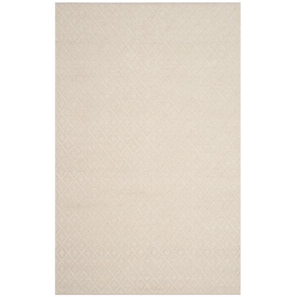 Xamiera Hand Tufted Wool And Cotton Ivory Area Rug by Gracie Oaks
