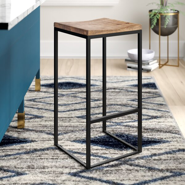 Norsworthy Bar & Counter Stool (Set Of 2) By Mercury Row