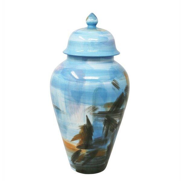 Decorative Ceramic Storage Jar by Bayou Breeze