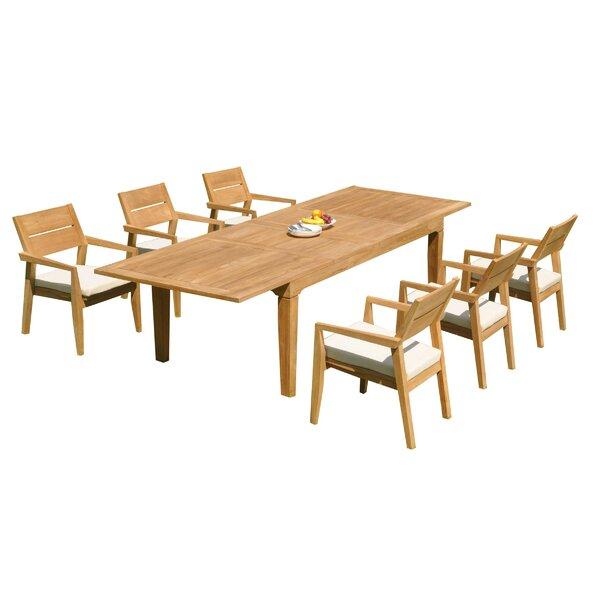 Caranas 7 Piece Teak Dining Set