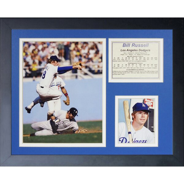 Bill Russell Framed Memorabilia by Legends Never Die