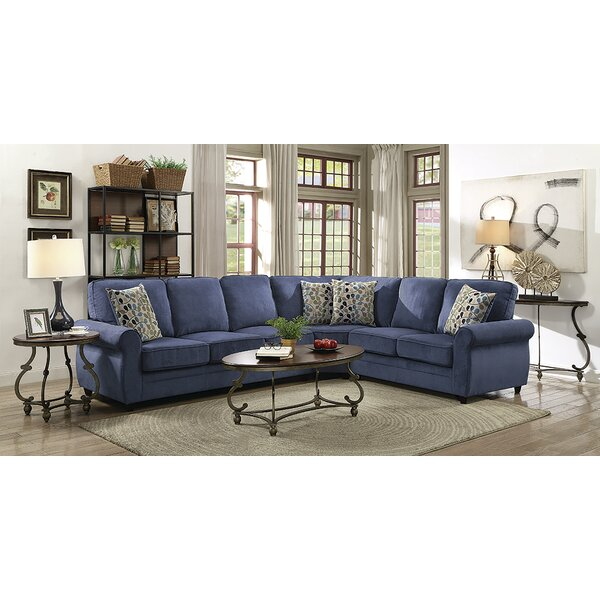 Ezekiel Right Hand Facing Sleeper Sectional by Charlton Home Charlton Home