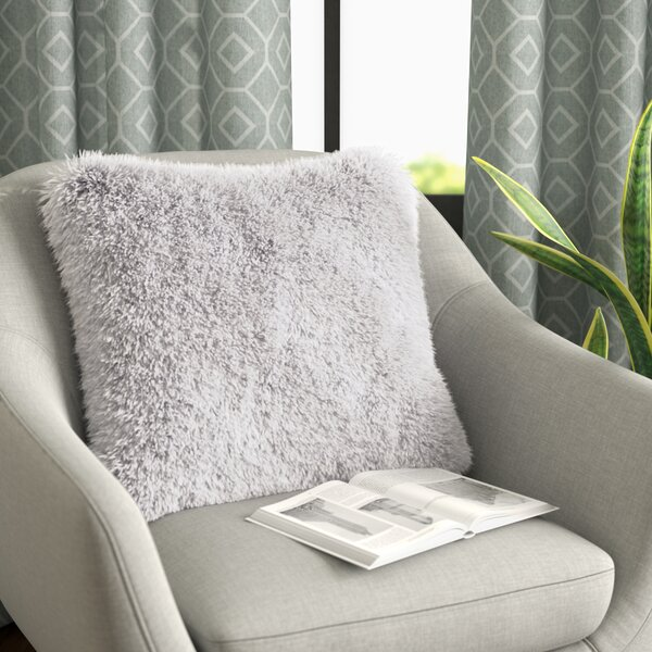 Broughton Very Soft and Comfy Plush Faux Fur Throw Pillow (Set of 2) by Willa Arlo Interiors
