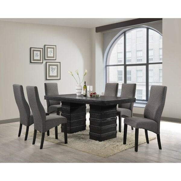 Rojas Upholstered Dining Chair (Set Of 2) By Wade Logan