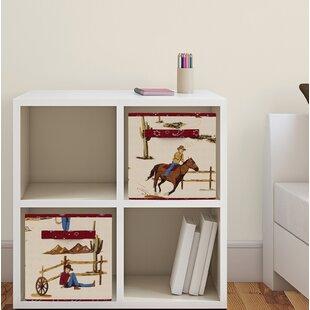 Wild West Fabric Storage Cube BySweet Jojo Designs