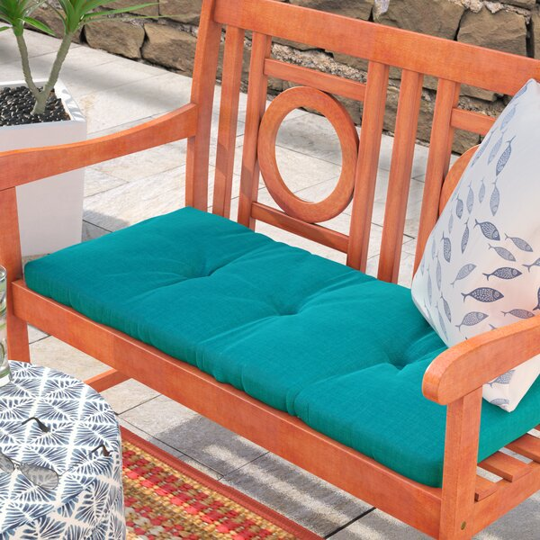 3 Sewn Indoor/Outdoor Bench Cushion by Beachcrest Home