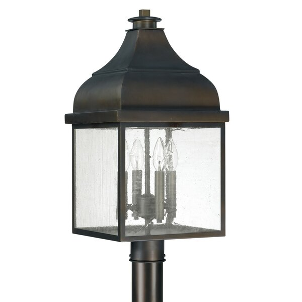 Westridge Outdoor 4-Light Lantern Head by Capital Lighting