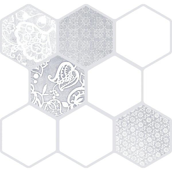 Virtue 18 x 18 Porcelain Field Tile in Virtue White by Emser Tile