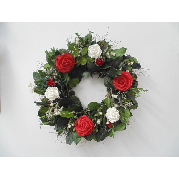 Miss Versatility 22 Wreath by Dried Flowers and Wreaths LLC