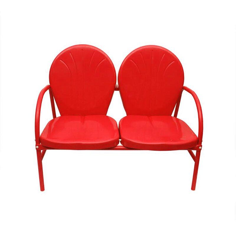 Genial Retro Metal 2 Seat Double Chair