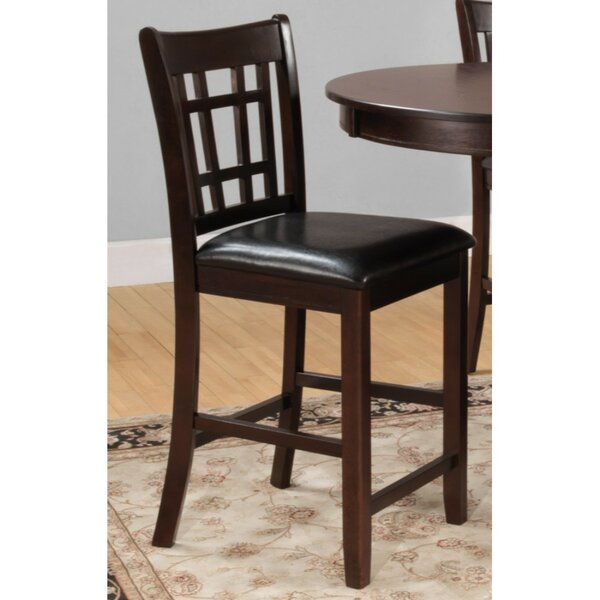 Bloom Wooden Bar Stool (Set of 2) by Alcott Hill