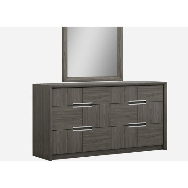 Morel 6 Drawer Double Dresser by Orren Ellis
