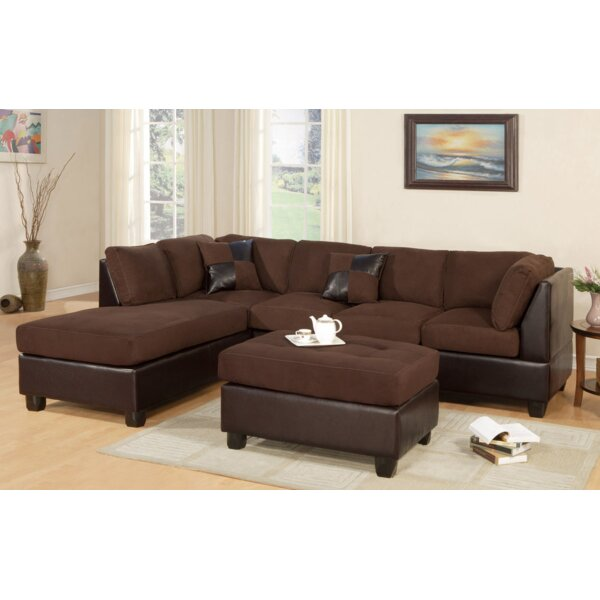 Miller Sectional with Ottoman by A&J Homes Studio