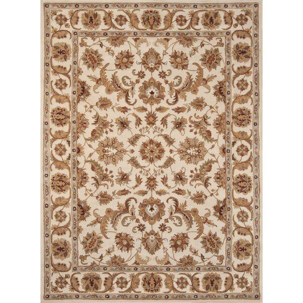 Meadow View Handmade Ivory Area Rug by Continental Rug Company