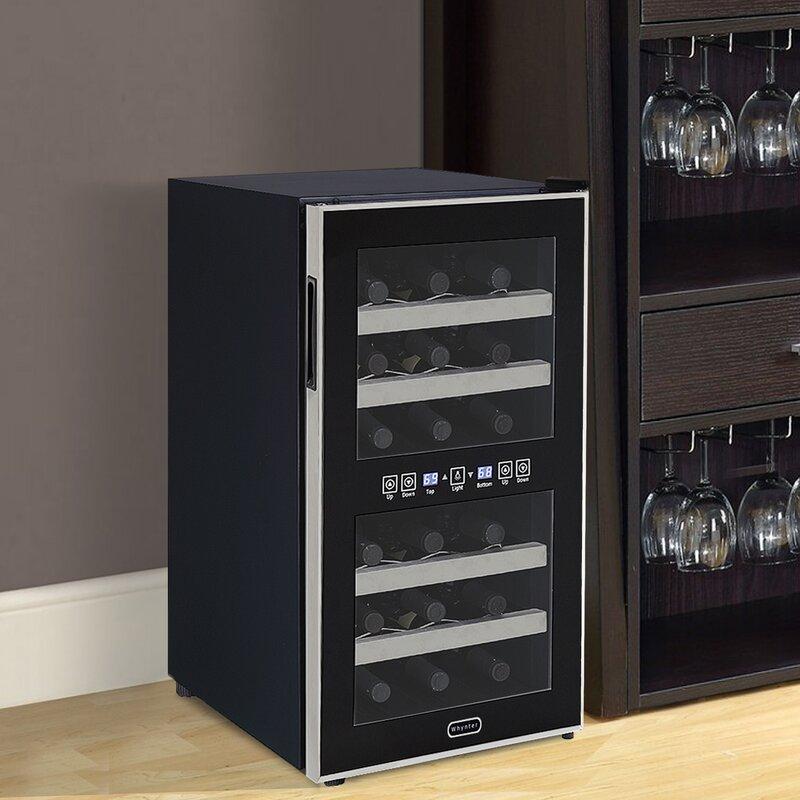 Elegant Freestanding Wine Cooler Cabinet