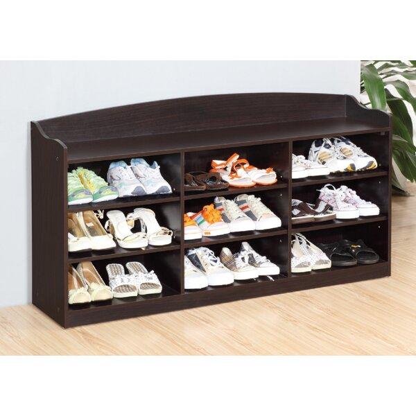18 Pair Shoe Storage Bench