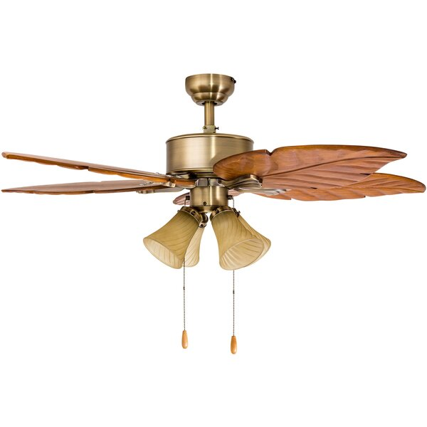 52 St. Marks 4-Light 5-Blade Ceiling Fan by Calcutta